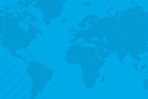 Light Blue Dotted World Map