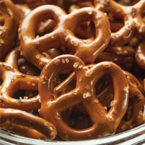 Close up of Pretzels