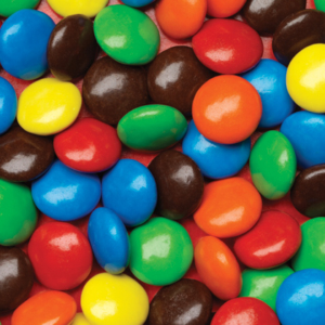 Close up of Multi-colored Chocolate Candies