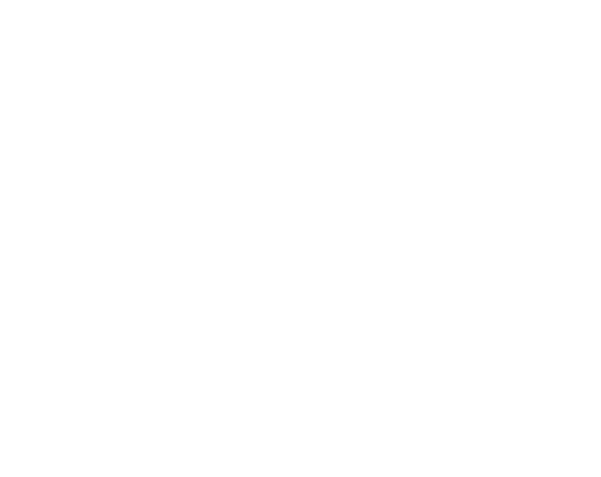White Gear Icon on Grey Background