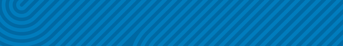 Blue Stripe Banner