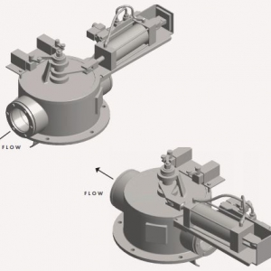Bottom Diverter Valve Flow Direction
