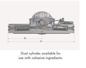 Bottom Diverter Valve Dual Cylinder Model