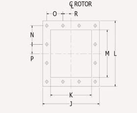 Rotary Valve Flanges Diagram Airlock