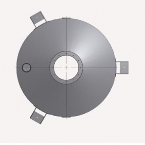 Concentric Scale Hopper Top View Schematic