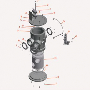 Tube Selector Valve Exploded View