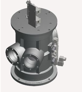 Tube Selector Valve Front View
