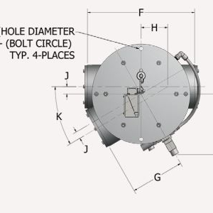 Tube Selector Valve Top View Schematic