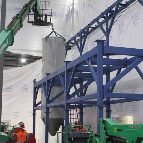 Store Structure and Bin Installation