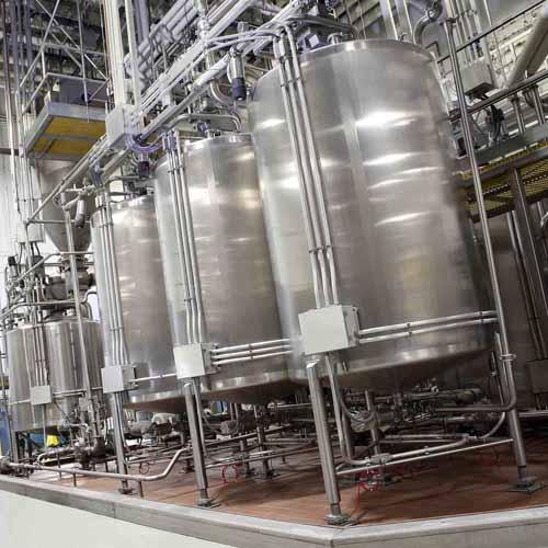 Liquid Storage Silos Inside