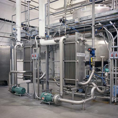Heat Exchanger in Factory