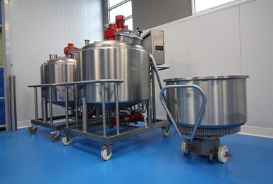 Three Vats in Linxis Technology Center