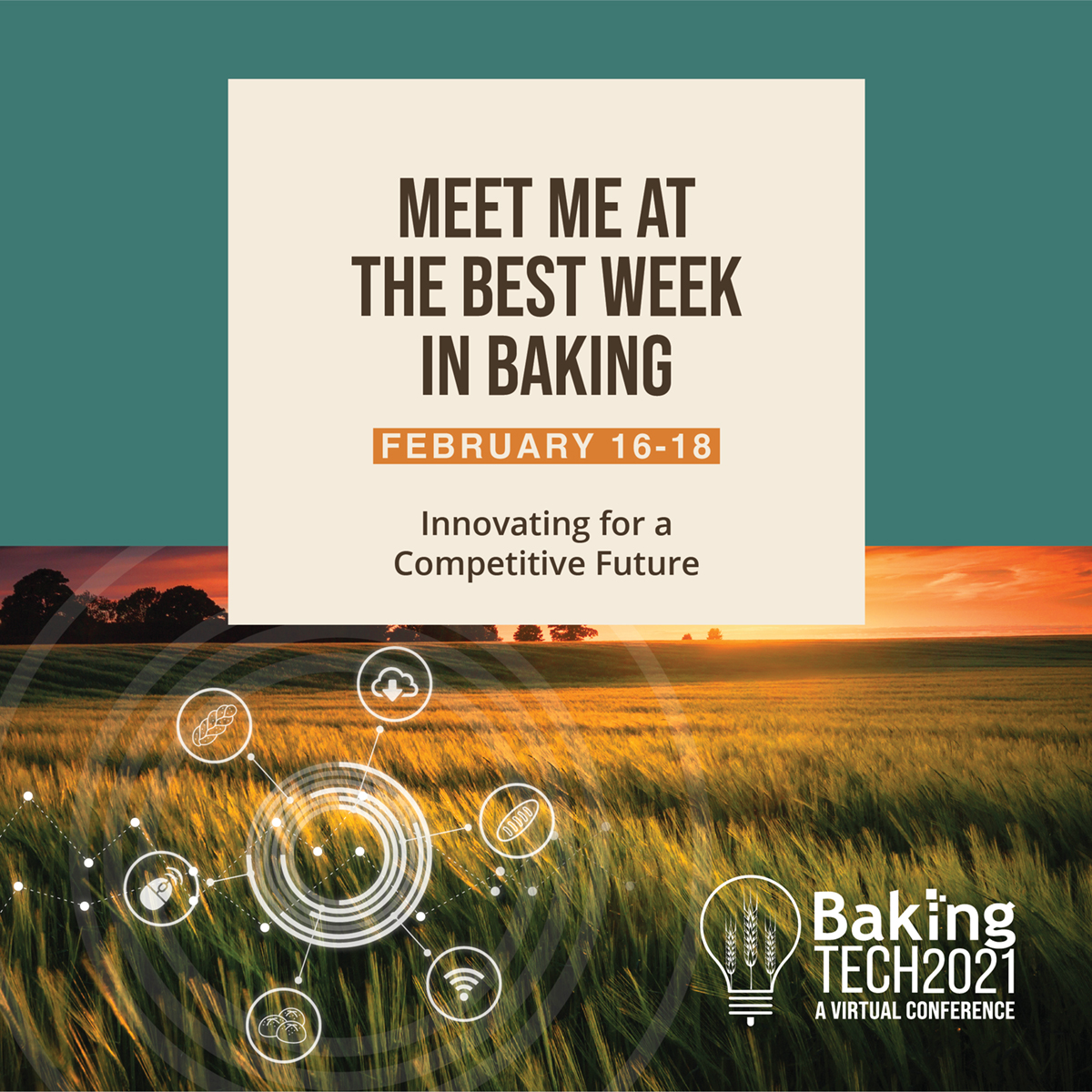 Baking Tech 2021 Conference Flier